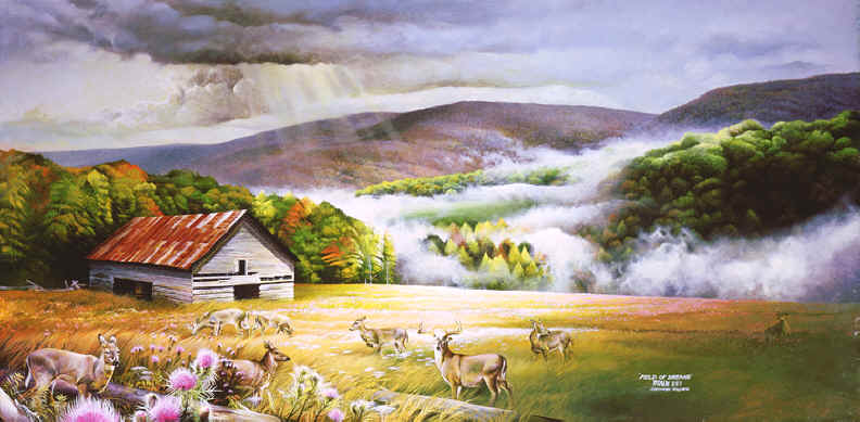 Landscape Paintings, landscape painting of cades cove, paintings of  landscapes, landscape art~ - Landscape Paintings,landscape Paintings Of Cades Cove & Smoky