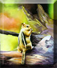 mr chipmunk painting